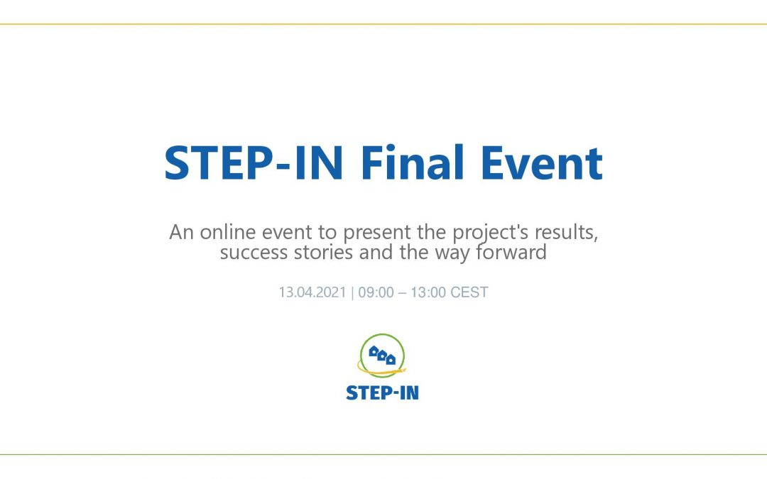 STEP-IN Final Event on 13 April 2021