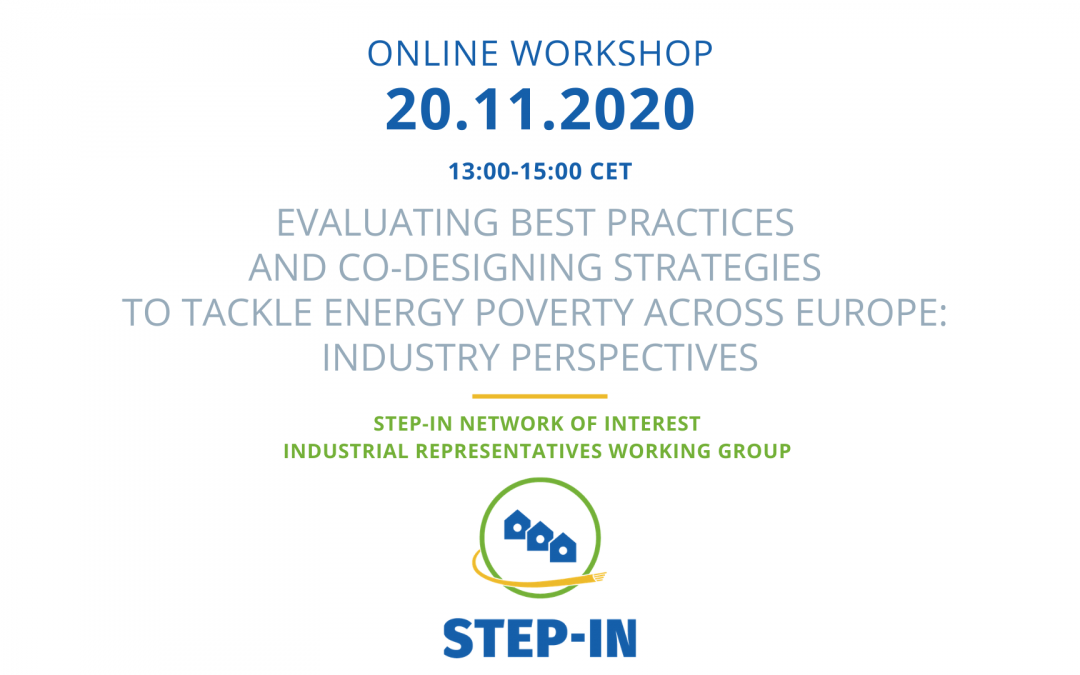 STEP-IN Network of Interest Industrial Working Group Workshop