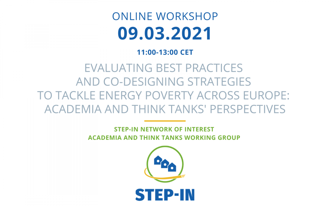 STEP-IN Network of Interest Academia and Think Tanks Workshop