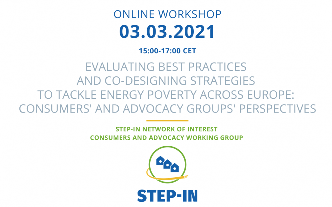 STEP-IN Network of Interest Consumer and Advocacy Groups Workshop