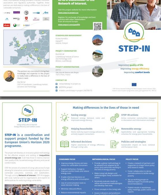 For our members of the Network of Interest: Flyer with information on the project and benefits of participation