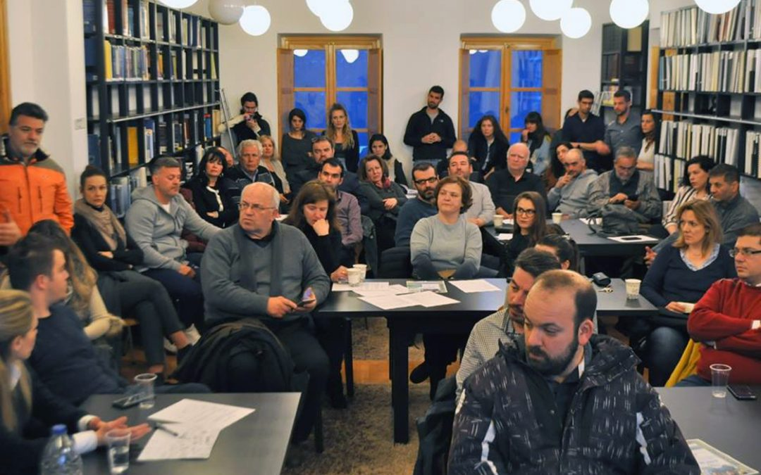 1st Energy Café in Metsovo